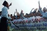 FOTO HARI SANTRI : Hari Santri Disyukuri Santri Jombang