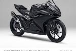 SEPEDA MOTOR HONDA : Begini Tampilan Utuh Honda CBR250RR