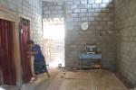 Kondisi rumah tak layak huni (RTLH) milik Suparlan Karnoprawiro, 76, warga Kelurahan Mandan, Kecamatan Sukoharjo, Sukoharjo, yang direhab menggunakan dana dari Kementerian Sosial (Kemensos), Selasa (20/10/2015). (Bony Eko Wicaksono/JIBI/Solopos)