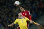 KUALIFIKASI EURO CUP 2016 : Menang Tipis 1-0, Spanyol Paksa Ukraina Jalani Play-off