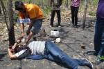 PENEMUAN MAYAT MADIUN : Sadis! Reka Ulang Pembunuhan Mahasiswi di Hutan Saradan