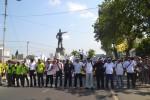 AKSI BURUH SOLORAYA : Buruh Soloraya Ancam Datangi Istana Negara
