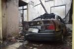 KEBAKARAN SUKOHARJO : Diawali Ledakan, Rumah Guru Besar UMS Ludes Terbakar di Tengah Hujan