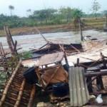 ANGIN KENCANG BOJONEGORO : Diterjang Angin, Rumah di Bojonegoro Roboh