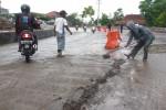 INFRASTRUKTUR BOYOLALI : Musim Hujan, 3 Proyek Jalan di Boyolali Dikebut
