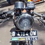 MODIFIKASI MOTOR : Honda GL100 Adopsi Gaya Cafe Racer, Begini Jadinya