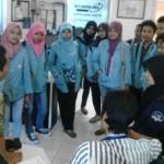 FOTO KUNJUNGAN MEDIA : Mahasiswa Pendidikan Bahasa dan Sastra Indonesia UNS Sambangi Griya Solopos