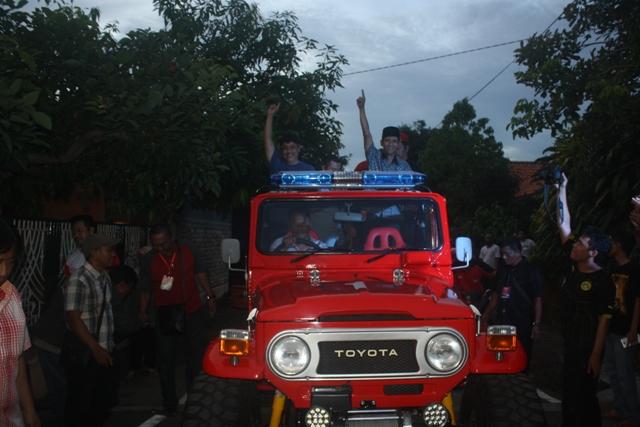 Mengintip Koleksi Mobil 4 Calon Bupati di Soloraya