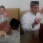 SENSASI ARTIS : Regina Bungkam Soal Foto Pernikahan dengan Duda Beranak 3
