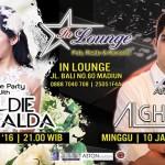 AGENDA MADIUN : InLounge Gelar Pesta Bareng DJ Al Ghazali & DJ Goldie Emeralda
