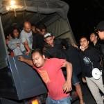 RUSUH SUPORTER : 33 Suporter Surabaya United Ditahan Di Mapolda Jateng