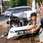 KECELAKAAN SRAGEN : Tabrakan Karambol 2 Truk, 1 Avanza, dan 2 Motor di Jalan Solo-Sragen