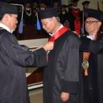 GURU BESAR UNDIP : Dikukuhkan Jadi Guru Besar, Achmad Busro Singgung MEA