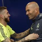 KARIER PELATIH : Ramos: Hadirnya Zidane Berdampak Positif Bagi Tim