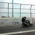 FLY OVER PALUR : Belum Diresmikan, Aksi Vandalisme Menyerang