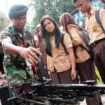 PELATIHAN BELA NEGARA : Ratusan Siswa Ini Rela Digenjot Bak Anggota Militer