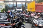 PERJUDIAN TULUNGAGUNG : Gerebek Arena Judi Sabung Ayam, Polisi Tulungagung Dapat 46 Motor