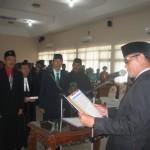 DPRD WONOGIRI : Dilantik, 2 Anggota Baru DPRD Diajak Sejahterakan Rakyat
