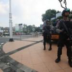 BOM SARINAH THAMRIN : Antisipasi Teroris, Polres Banyumas Gelar Razia di Stasiun Besar