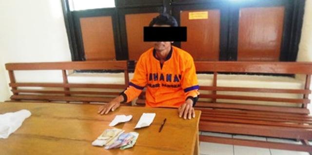PERJUDIAN MAGETAN : Lelaki Asal Desa Sidowayah Ini Nekat Jual Togel di Tepi Jalan...