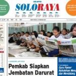 SOLOPOS HARI INI : Soloraya Hari Ini: Pemkab Karanganyar Siapkan Jembatan Darurat