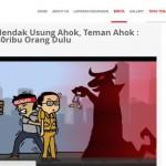 PILGUB DKI JAKARTA : Malam Panjang Teman Ahok dan