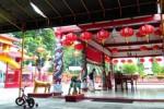 TAHUN BARU IMLEK : Barongsai dan Liong Samsi Sambut Tahun Baru Imlek di Bojonegoro