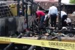 KEBAKARAN MADIUN : Kebakaran Rumah Akibat Korsleting, Polisi Imbau Warga Lebih Hati-Hati