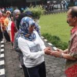 PELANTIKAN KEPALA DAERAH : Penjabat Wali Kota Magelang Rudy Apriyantono Pamitan