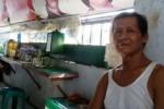 PASAR BESAR MADIUN : Mbah Rin, Habiskan Hidup di Pasar Besar…