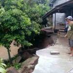 BENCANA SRAGEN : Erosi Kali Garuda Rusak 1 Rumah
