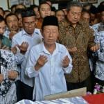KEBAKARAN RS MINTOHARDJO : Layat Ketum PGRI, SBY Doakan Perjuangan Guru Tercapai