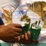 CATATAN 2017 : 8.060 Bungkus Rokok Ilegal Disita Bea Cukai Madiun