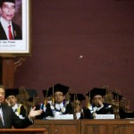 KAMPUS DI SEMARANG : Di Unnes, SBY Peroleh Penghargaan Konservasi