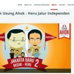 PILGUB DKI JAKARTA : Jelang 1 Juta KTP, Heru Malah Diisukan Mundur dari Cawagub Ahok
