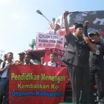 DEMO PELAJAR SUKOHARJO : Didukung Bupati dan Pimwan, Ini Isi Tuntutan Demonstran
