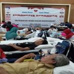 KEGIATAN SOSIAL : RRI Jogja Gelar Donor Darah