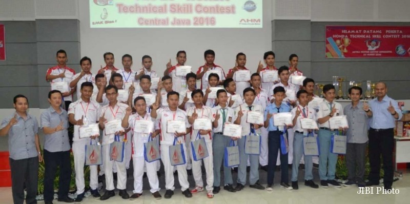 Astra Motor Semarang Gelar Regional Technical Skill Contest 2016, Ini Juaranya...