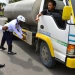 FOTO RAZIA KUDUS : Truk Dirazia di Jalur Kudus-Semarang
