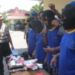 PENCURIAN SUKOHARJO : Polisi Tangkap 4 Anggota Komplotan Curat Lintas Provinsi