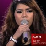 "THE VOICE INDONESIA RCTI : ""Anyer 10 Maret"" Versi Aline Bikin Baper Berat"