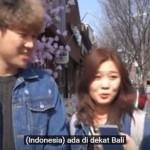 VIDEO UNIK YOUTUBE : Duh, Begini Jawaban Remaja Korea Saat Ditanya tentang Indonesia