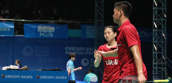 PRANCIS OPEN 2016 : Ditekuk Wakil Tiongkok, Praveen/Debby Gagal ke Semifinal