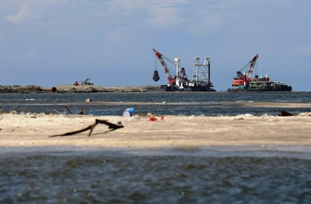 REKLAMASI JAKARTA : Sudah Terlanjur, Wapres Ingin Pulau C dan D Diteruskan