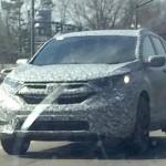 MOBIL HONDA: Sosok CR-V Facelift Terungkap! Kini Lebih Panjang