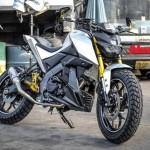 MODIFIKASI MOTOR: Pasang Komponen Ini, Tampilan Yamaha Xabre Makin Angker