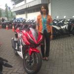 PENJUALAN SEPEDA MOTOR : Beli All New Honda CBR150R di Jogja, Harus Inden 71 Unit