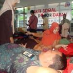 AKSI SOSIAL : Pemkab dan Bank Jateng Adakan Pendonoran Darah