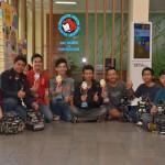 KONTES ROBOT INDONESIA : Tak Hanya Jadi Juara, Robot Sepak Bola UKSW Juga Raih Predikat Terinovatif