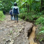 BENCANA WONOGIRI : Tanah di Ponorogo Merekah, Warga Kismantoro Ikut Waswas